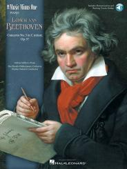 Beethoven, Ludwig van: Music minus one piano concerto c minor no.3 op.37, for piano and orchestra, book (+audio online access)