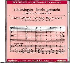 Beethoven, Ludwig van: Sinfonie d-Moll Nr.9 und Chorfantasie c-Moll op.80 CD Chorstimme Sopran und, Chorstimmen ohne Sopran