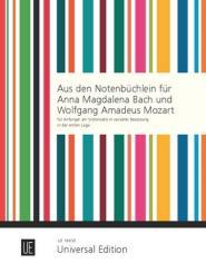 Bekannte Stücke aus den Notenbüchlein für A.M. Bach und W.A. Mozart für Cello, 2 Celli oder Cello und Klavier