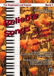 Beliebte Songs Band 1 für Keyboard / Klavier, sehr leicht