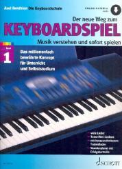 Benthien, Axel: Der neue Weg zum Keyboardspiel Band 1 (+Online Audio)