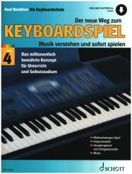 Benthien, Axel: Der neue Weg zum Keyboardspiel Band 4 (+Online Audio)