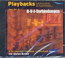 Berker,  Stefan: Playbacks zum Improvisieren Jazz vol.4 CD für alle Lead-Instrumente