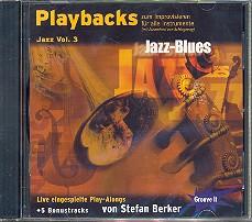 Berker,  Stefan: Playbacks zum Improvisieren Jazz CD für alle Lead-Instrumente