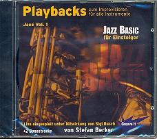 Berker,  Stefan: Playbacks zum Improvisieren Jazz vol.1 CD für alle Lead-Instrumente