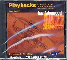 Berker,  Stefan: Playbacks zum Improvisieren Jazz vol.2 CD für alle Lead-Instrumente