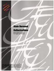 Bernaud, Alain: Hallucinations pour basson et piano