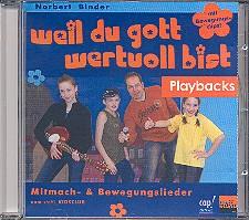Binder, Norbert: Weil Du Gott wertvoll bist Playback-CD