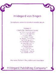 Bingen, Hildegard von: Symphonia armoniae caelestium revelationum vol.5 Chants for the Patron Saints