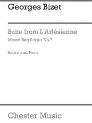 Bizet, Georges: Suite from L'Arlesienne-Suite for woodwinds, score and parts
