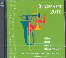 Bläserheft 2010 2 CD's