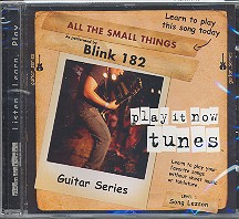 Blink 182 - All the small things CD Guitar Series Song Lesson Level 1, Play it now tunes