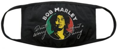 Bob Marley Don't Worry Face Covering Gesichtsmaske