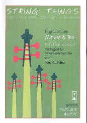 Boccherini, Luigi: Menuett und Trio für variable Streicherbesetzung, Partitur und Stimmen