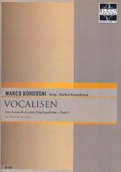 Bordogni, Giulio Marco: Vocalisen Band 1 (Auswahl) für Kontrabasstuba
