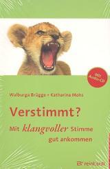 Brügge, Walburga: Verstimmt - mit klangvoller Stimme gut ankommen (+CD)