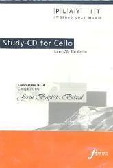 Bréval, Jean Baptiste: Concertino C-Dur Nr.4 für Violoncello und Klavier Playalong CD, Play it - improve your music