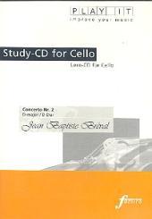 Bréval, Jean Baptiste: Konzert D-Dur Nr.2 Lern-CD für Violoncello mit der, Klavierbegleitung in 3 Tempi