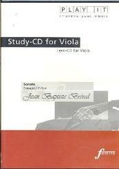 Bréval, Jean Baptiste: Sonate C-Dur für Viola und Klavier Playalong-CD