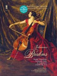 Brahms, Johannes: Music Minus One Violoncello (+3 CD's) Double Concerto a minor op.102 for, violoncello, violin and orchestra