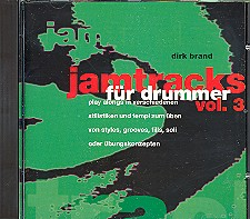 Brand, Dirk: Jamtracks vol.3 CD für Drummer
