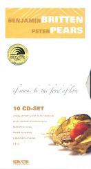 Britten, Benjamin: Britten & Pears - If Music be the Food of Love 10 CD-Box (Booklet dt/en)