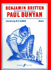 Britten, Benjamin: Paul Bunyan score (en)