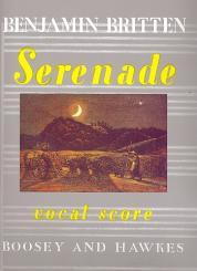 Britten, Benjamin: Serenade op.31 für Tenor, Horn und Streicher, Klavierauszug