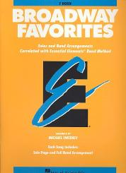 Broadway Favorites for horn in f Solos and band arrangements