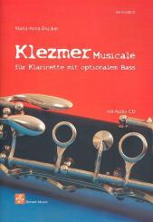 Brucker, Maria-Anna: Klezmer musicale (+CD) für Klarinette (Bassinstrument ad lib), 2 Spielpartituren