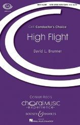 Brunner, David L.: High Flight for mixed chorus