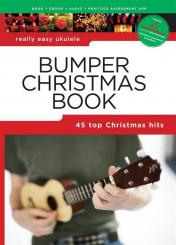 Bumper Christmas Book (+Soundcheck): for really easy ukulele melody/lyrics/chords)