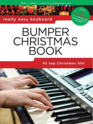 Bumper Christmas Book (+Soundcheck): for really easy keyboard (with lyrics and chords)