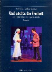 Bund, Basti: Und nachts die Freiheit für Kinderchor und Instrumente, Partitur