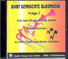 Bunt gemischte Blasmusik Band 7 CD