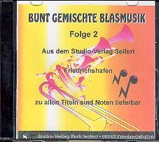 Bunt gemischte Blasmusik Band 2 CD
