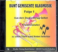 Bunt gemischte Blasmusik Band 1 CD