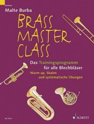 Burba, Malte: Brass Masterclass - das Trainingsprogramm für Blechbläser