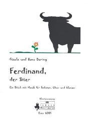 Buring, Hans: Ferdinand der Stier (+CD) für Solisten, Chor und Klavier, Klavierauszug