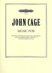 Cage, John: Music for for voice and instruments, Violin 1