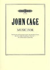 Cage, John: Music for for voice and instruments, Violin 2
