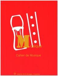 Cahier mixte Schulheft für Frankreich