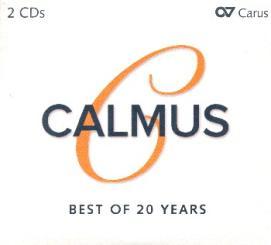 Calmus - Best of 20 Years 2 CD's