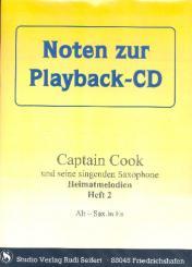 Captain Cook Heimatmelodien Band 2 (+CD) Es- und B-Instrumente