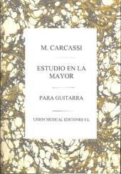 Carcassi, Matteo: Estudio la mayor op.60,3 para guitarra