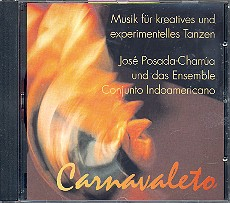 Carnavaleto CD Musik für kreatives und, experimentelles Tanzen