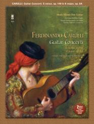 Carulli, Ferdinando: 2 Concerti for Guitar and Orchestra (+2 CD's) printed guitar part