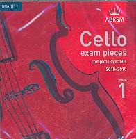 Cello Exam Pieces Grade 1 2010-2015 CD