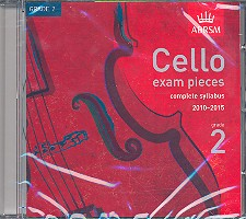 Cello Exam Pieces Grade 2 CD complete Syllabus 2010-2015