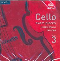 Cello Exam Pieces Grade 3 2010-2015 CD